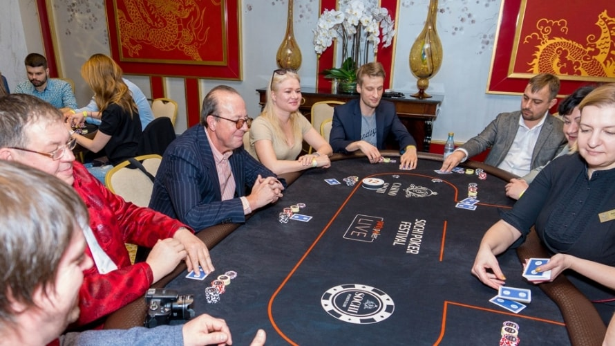 покерный турнир для журналистов в Казино Сочи 2018