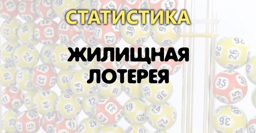 Статистика Жилищная лотерея