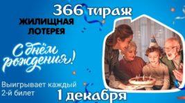 Анонс День Рождения Жилищной лотереи